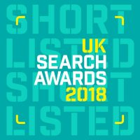 UK search awards nomination 2018