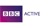 BBC Active logo with white background