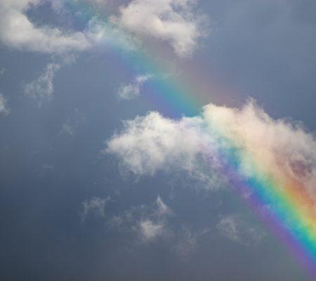 Rainbow symbolising Hope for Tomorrow