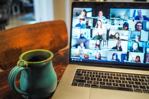 hosting a virtual event