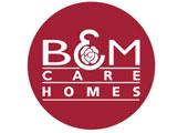 B&M Care Homes Logo